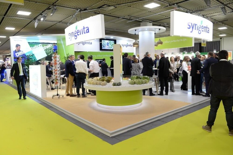 Syngenta Stand Fruit Logistica