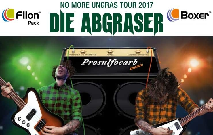 Die Abgraser- No more Ungras Tour